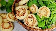 Фото рецепта Печенье «Шампиньоны»