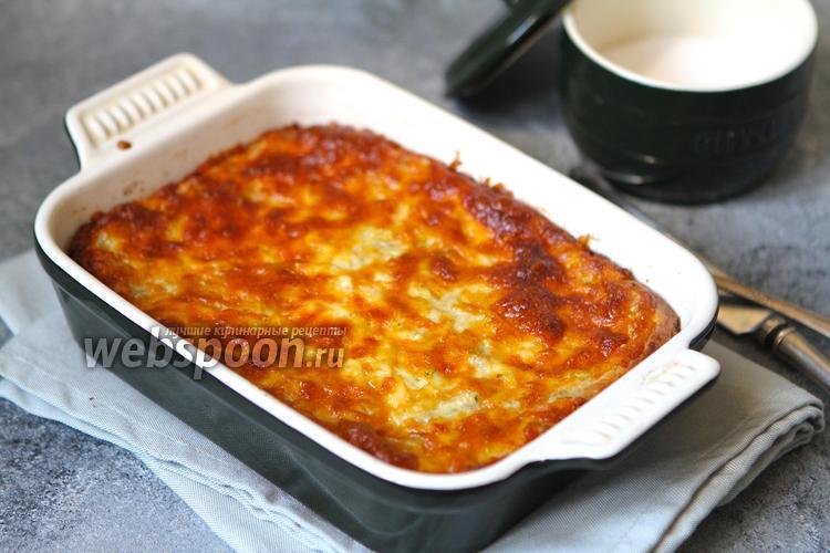 Фото Запеканка из кабачков и цукини с сыром