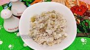 Фото рецепта Салат с рисом, консервированной рыбой и солёным огурцом