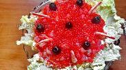 Фото рецепта Салат «Царский» с сёмгой