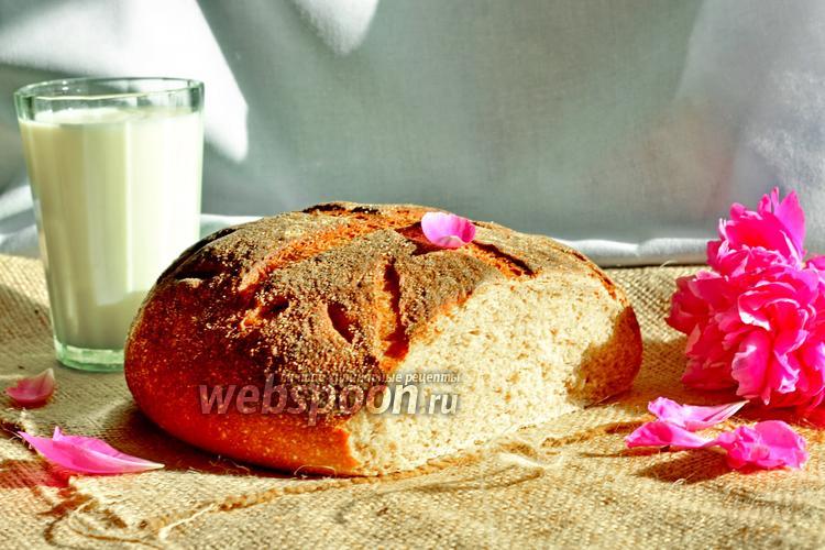 Фото Вермонтский хлеб на ржаной закваске