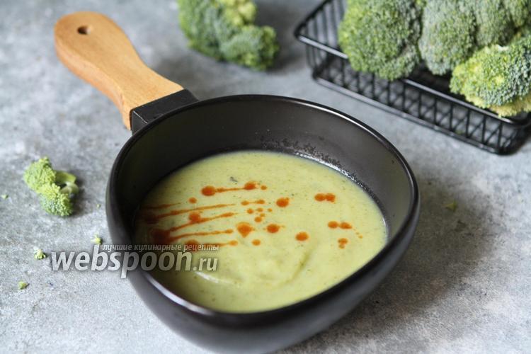 Фото Крем-суп из цукини и брокколи с картофелем