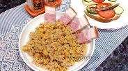 Фото рецепта Булгур с кукурузой и помидором