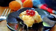Фото рецепта Творожная запеканка с дыней и абрикосами