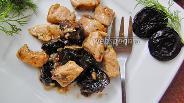 Фото рецепта Гуляш из свинины с черносливом в вине