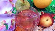 Фото рецепта Клубничный компот с липой