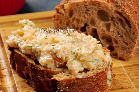 Бутербродные намазки из рыбы. Видео видео рецепт