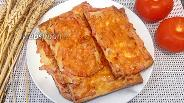 Фото рецепта Мини-пицца с ветчиной и сыром