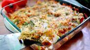 Фото рецепта Лазанья из кабачка и куриного фарша