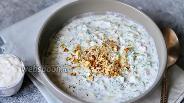 Фото рецепта Суп «Таратор» с грецким орехом