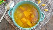 Фото рецепта Суп из тыквы с курицей в мультиварке