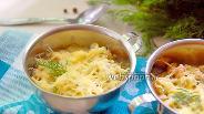Фото рецепта Жульен с цветной капустой и белой фасолью