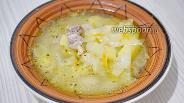 Фото рецепта Щи из свежей капусты со свининой в мультиварке