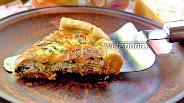 Фото рецепта Киш со шпинатом и рикоттой