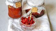 Фото рецепта Томаты вяленые с паприкой и розмарином