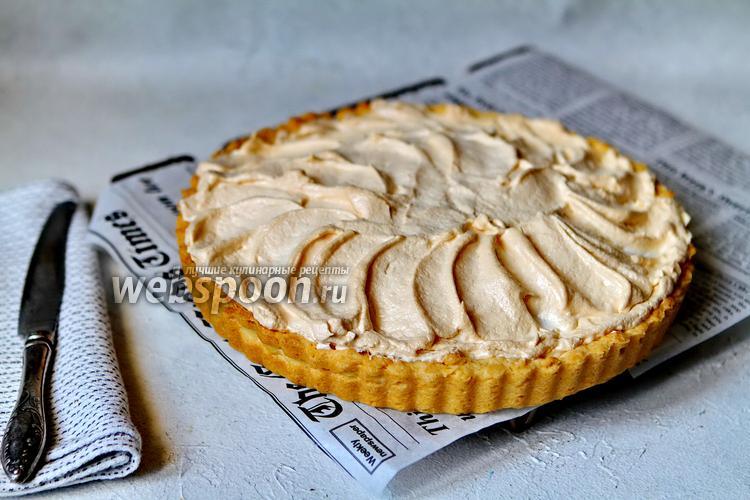 Фото Абрикосовый пирог с безе