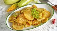Фото рецепта Кабачки жареные маринованные