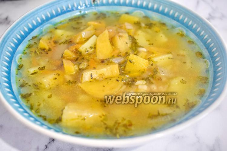 Фото Постный суп из репы