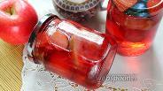 Фото рецепта Компот из грейпфрута и яблок со сливами на зиму