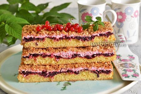 Фото рецепта Польский пирог с безе