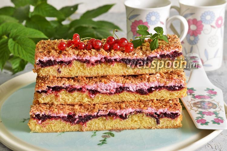 Фото Польский пирог с безе