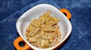 Фото рецепта Говяжья печень с подливкой в мультиварке