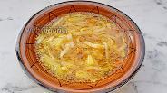 Фото рецепта Суп с консервированный фасолью, курицей и лапшой