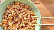 Фото рецепта Рис по-азиатски с овощами и соевым соусом