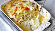 Фото рецепта Картофельная запеканка с индейкой