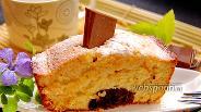 Фото рецепта Апельсиновый кекс с шоколадным «стержнем»