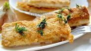 Фото рецепта Сырные палочки из лаваша с чесноком
