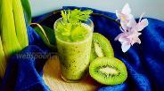 Фото рецепта Зелёный детокс-смузи