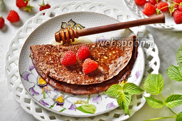 Фото Овсяноблин с какао
