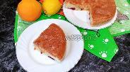 Фото рецепта Шарлотка с абрикосами и сливами