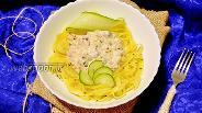 Фото рецепта Баветте с лососем в сливочном соусе