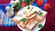 Фото рецепта Рулетики из лаваша с форелью и плавленым сырком
