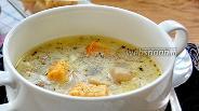 Фото рецепта Чесночный суп с грибами
