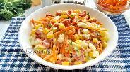 Фото рецепта Салат «Энди» с колбасой