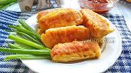 Фото рецепта Крабовые палочки в кляре без сыра
