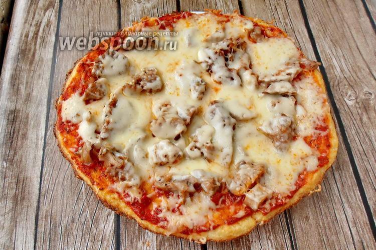 Фото Пицца из цветной капусты