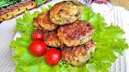 Фото рецепта Котлеты из свинины с зеленью