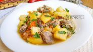 Фото рецепта Куриные желудки с картошкой в мультиварке