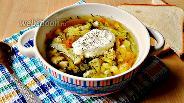 Фото рецепта Суп из брокколи и цветной капусты