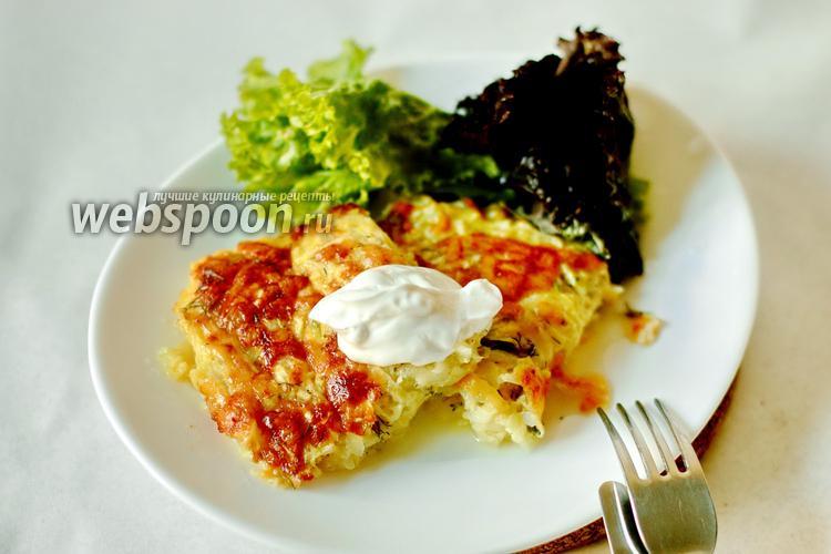 Фото Запеканка из кабачков с сыром