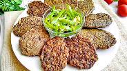 Фото рецепта Котлеты из куриной печени с рисом и болгарским перцем