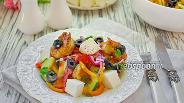 Фото рецепта Греческий салат с креветками