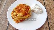 Фото рецепта Пакнейки из цукини и пармезана с соусом ДИП