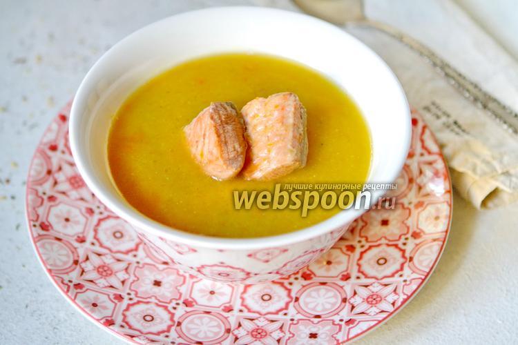 Фото Рыбный суп с чечевицей