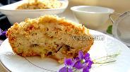 Фото рецепта Банановый кекс со штрейзелем