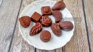 Фото рецепта Шоколадные конфеты из кокосовой муки